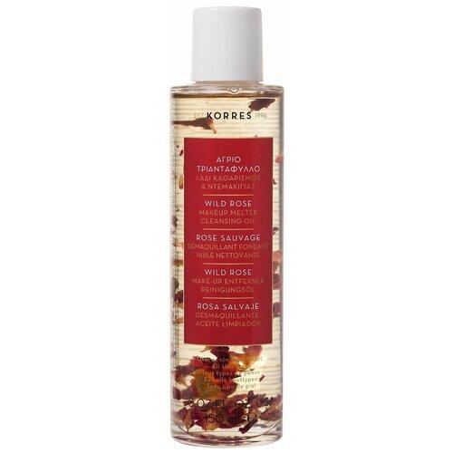 Купить KORRES масло для снятия макияжа Дикая роза, 150 мл