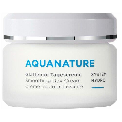 Купить Annemarie Borlind Aquanature Smoothing Day Cream Разглаживающий дневной крем для лица, 50 мл