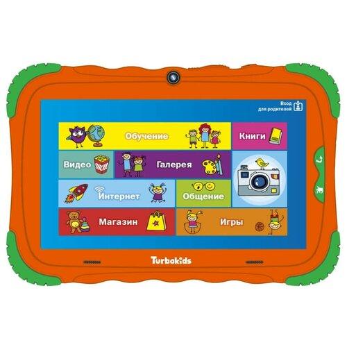Планшет TurboKids S5 16Gb (2018), оранжевый