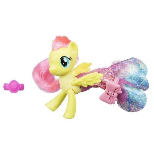 Фигурка My Little Pony Hasbro Пони в волшебных платьях Мерцание, желтый