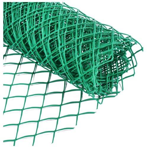 Сетка садовая 0,5 х 5 м ячейка ромб 40 х 40 мм зеленая Greengo 3299380 брусок сухой строганный хвоя 40 х 40 х 2000 мм
