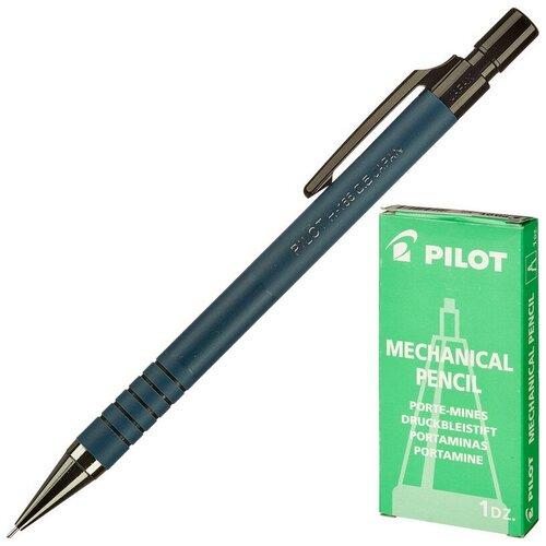 Купить Карандаш механический PILOT H-165 0, 5мм синий корп. Япония, Механические карандаши и грифели