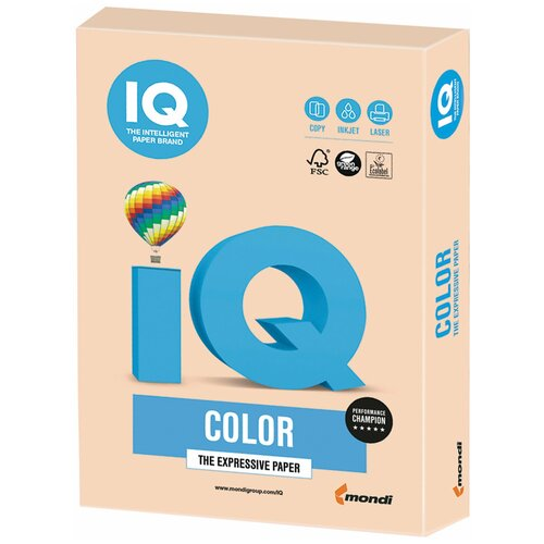 Фото - Бумага IQ Color А4 160 г/м² 250 лист., темно-кремовый SA24 бумага iq color а4 color 120 г м2 250 лист оранжевый or43 1 шт