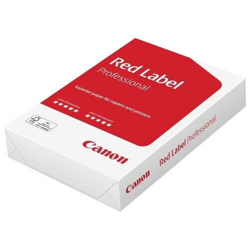 Фото - Бумага Canon A4 Red Label Professional 80 г/м² 500 лист., белый бумага creative a4 студенческая 80 г м² 100 лист белый