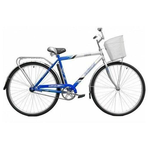 Байкал Велосипед двухколесный с корзиной Байкал 2808 синий