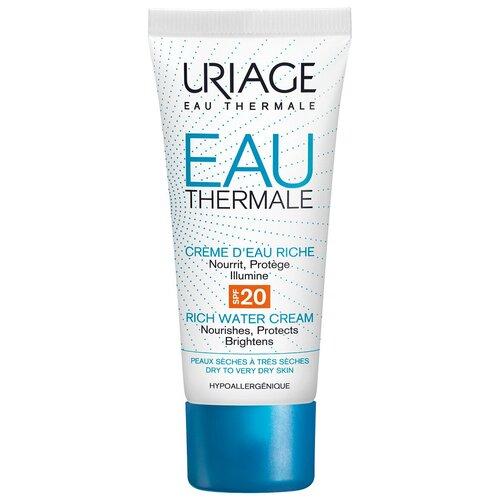 Uriage Eau Thermale Rich Water Cream SPF20 Крем увлажняющий для лица, 40 мл  - Купить