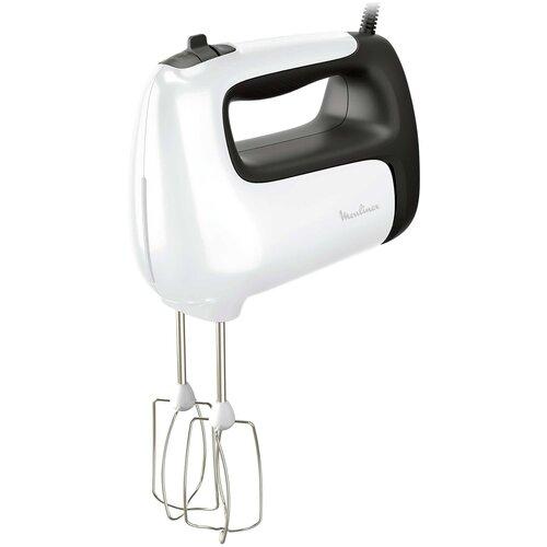 Миксер Moulinex HM 460110, белый/серый