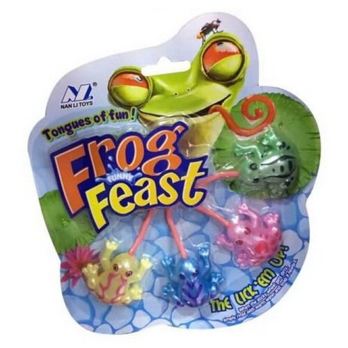 Фото - Фигурки Nan Li Frog Feast 13016B-4 nan levinson outspoken