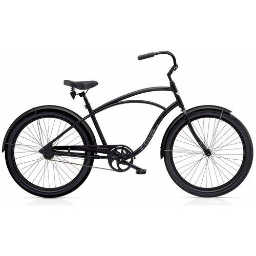 Велосипед подростковый Electra Cruiser 1 Black '24(В собранном виде)