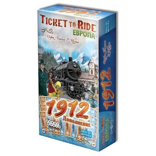 Купить Дополнение для настольной игры HOBBY WORLD Ticket to Ride. Европа: 1912, Настольные игры