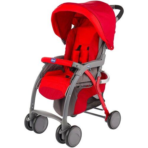 Прогулочная коляска Chicco SimpliCity Plus Top, red прогулочная коляска chicco lite way top aster