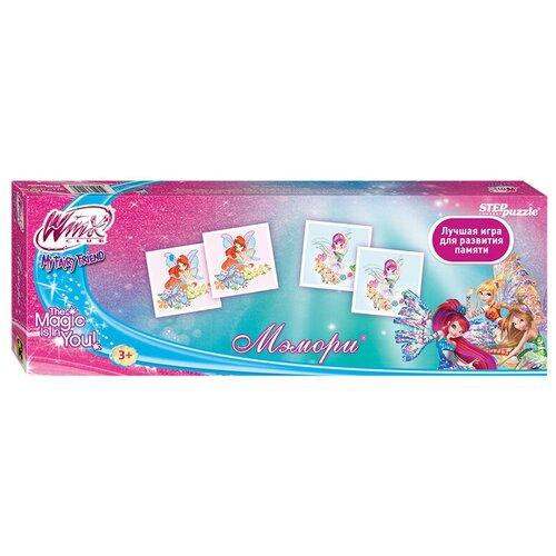Настольная игра Step puzzle Мэмори Winx (Rainbow) недорого