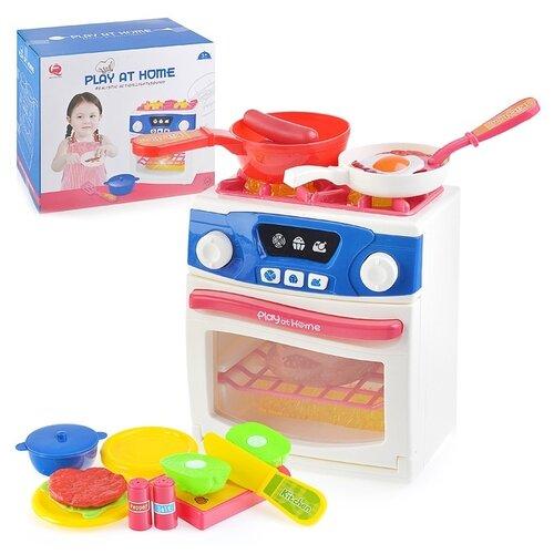 Купить Кухонная плита Oubaoloon в коробке (QF26131W), Детские кухни и бытовая техника