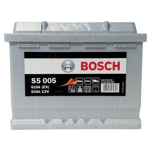 Автомобильный аккумулятор Bosch S5 005 (0 092 S50 050)