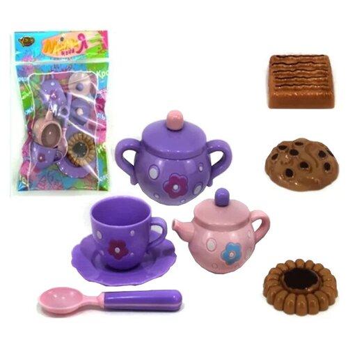 Набор продуктов с посудой Yako Мини Мания - чайный набор M6011