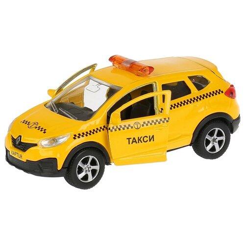Легковой автомобиль ТЕХНОПАРК Renault Kaptur (SB-18-20-RK-T-WB) 1:36, 12 см, желтый легковой автомобиль технопарк renault kaptur 1 36 12 см оранжевый
