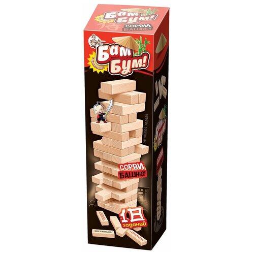 Фото - Настольная игра Десятое королевство Падающая башня с фантами Бам-бум 01741 настольная игра десятое королевство бам бум кроко 04101