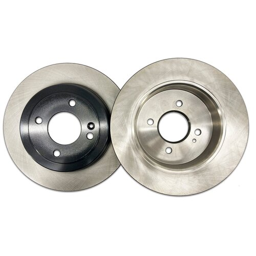 Комплект тормозных дисков задний NIBK RN11003 262x10 для Hyundai Solaris, Kia Rio (2 шт.)