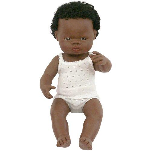 Пупс Miniland мальчик африканец, 38 см, 31153