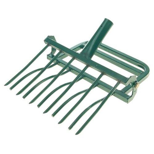 Рыхлитель садово-огородный «ЗЕМЛЕКОП-6» ( ручка, 6 зубьев, ш-на копки одной полосы 480мм) 335108