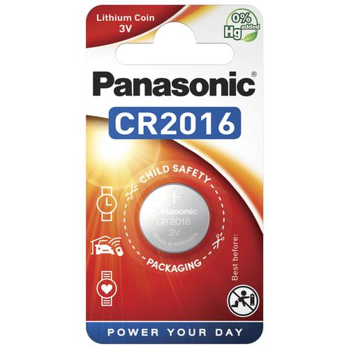 Фото - Литиевые дисковые батарейки Panasonic CR-2016EL-1B батарейки panasonic c r14 пленка 2 шт
