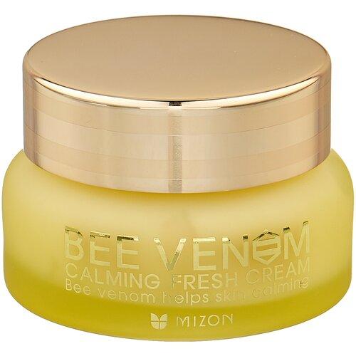Купить Mizon Bee venom calming fresh cream Крем для лица с прополисом и ядом пчелы, 50 мл