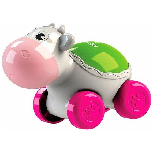 Фото - Развивающая игрушка Азбукварик Люленьки Коровка Светяшка, белый подвесная игрушка азбукварик зайчонок люленьки желтый голубой