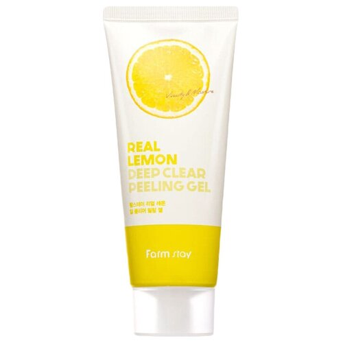 Купить Farmstay пилинг-гель для лица Deep Clear Peeling Gel Real Lemon 100 мл