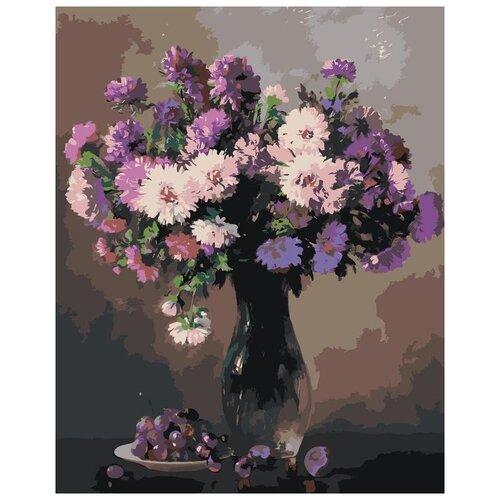 Купить Картина по номерам «Нежный букет», 40x50 см, Живопись по Номерам, Живопись по номерам, Картины по номерам и контурам