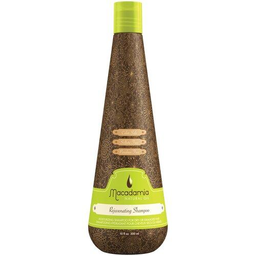 Macadamia шампунь Natural Oil Rejuvenating восстанавливающий с маслом арганы и макадамии, 300 мл недорого