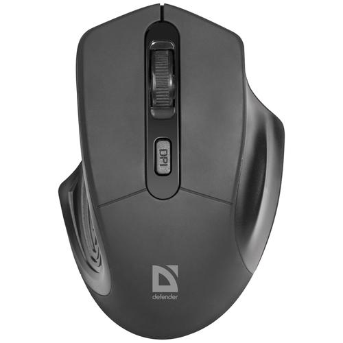 Беспроводная мышь Defender Datum MB-345, черный
