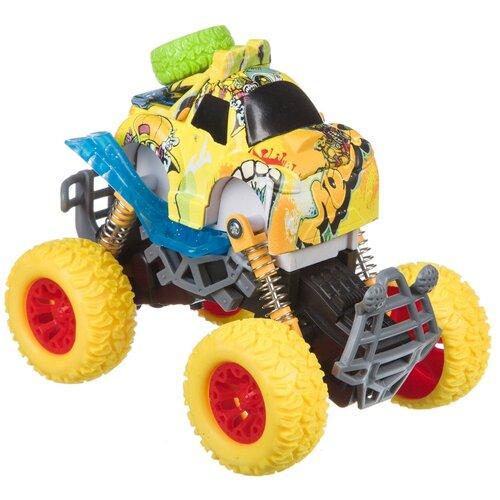 Купить Монстр-трак BONDIBON Парк техники (ВВ4498), желтый, Машинки и техника