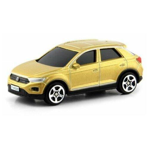 Легковой автомобиль RMZ City Volkswagen T-Roc 2018 (344040) 1:64, золотистый