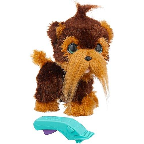 Фото - Интерактивная мягкая игрушка FurReal Friends Щенок Шон, коричневый интерактивная мягкая игрушка mioshi active весёлый щенок mac0601 006 белый