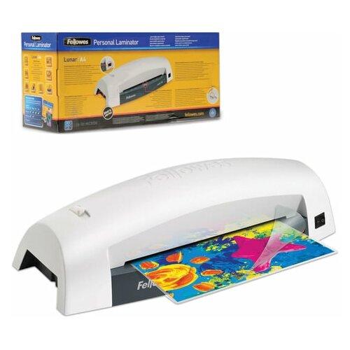 Ламинатор FELLOWES LUNAR формат A4 толщина пленки 1 сторона 75-80 мкм скорость 30 см/мин FS-5715601 1 шт.