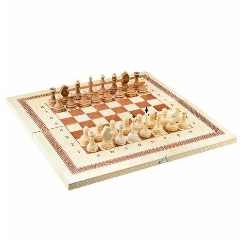 Фото - Настольная игра Игра 3в1 малая 400*200*34 нарды шахматы парафин.шашки Игра игра