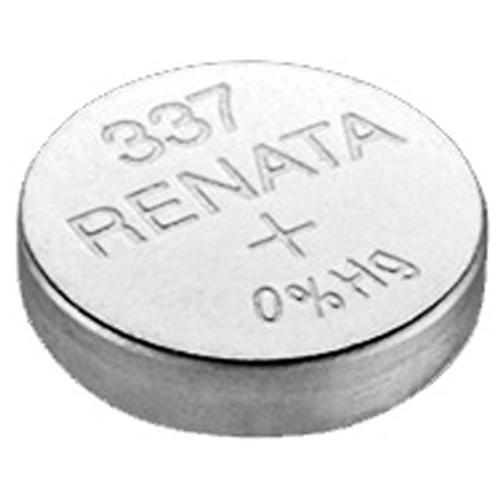 Фото - Батарейка Renata 337, 1 шт., 5 уп. батарейка renata r 384 sr41sw 1 шт