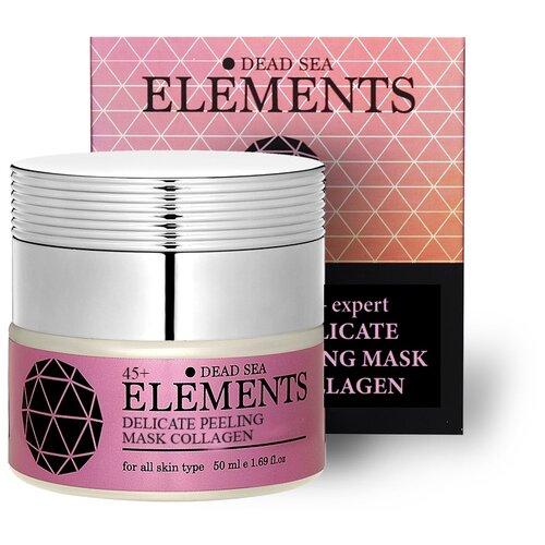 Купить Elements Деликатная пилинг-маска для лица с коллагеном и активными минералами Мертвого моря, 50 мл (Израиль), Sea of Spa