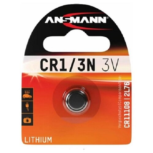 Фото - Элемент питания ANSMANN CR1/3N 3V Lithium (1 шт) элемент питания gp high voltage 476a 6v 1 шт