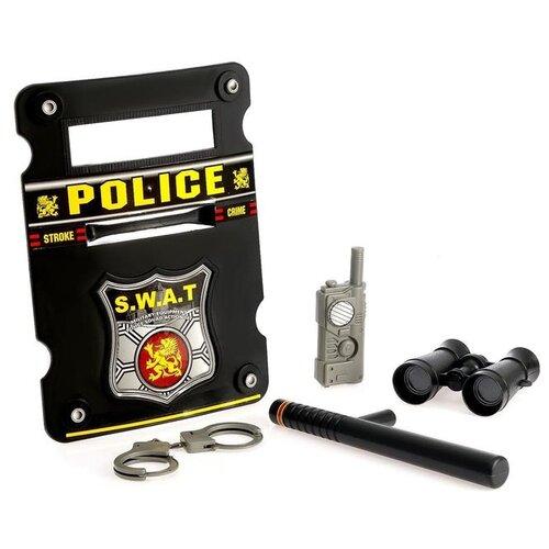 Купить Набор полицейского «Спецназовец», 5 предметов, Сима-ленд, Полицейские и шпионы