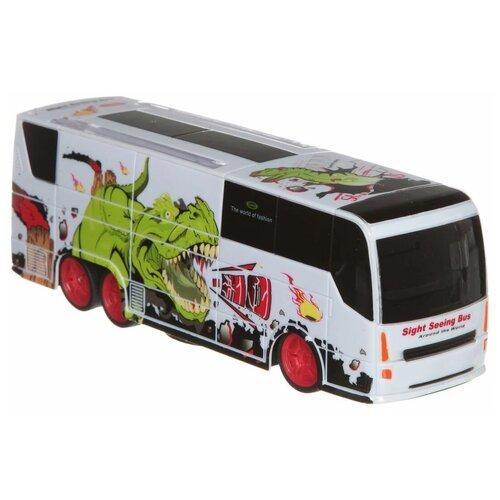 Автобус HB 666 666-378 белый
