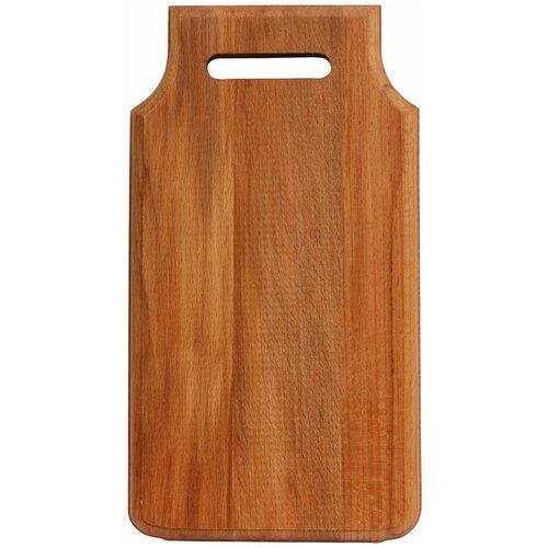 доска разделочная деревянная bohmann bh 02 597 диаметр 25 см Разделочная доска Bohmann BH 02-565, 36х19 см, коричневый