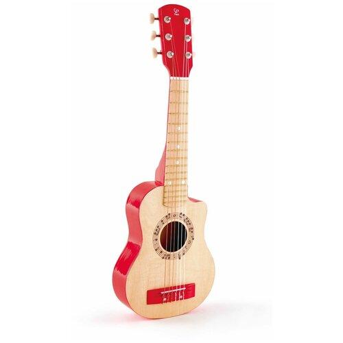 Купить Hape гитара E0600/E0601/E0602 красное пламя, Детские музыкальные инструменты