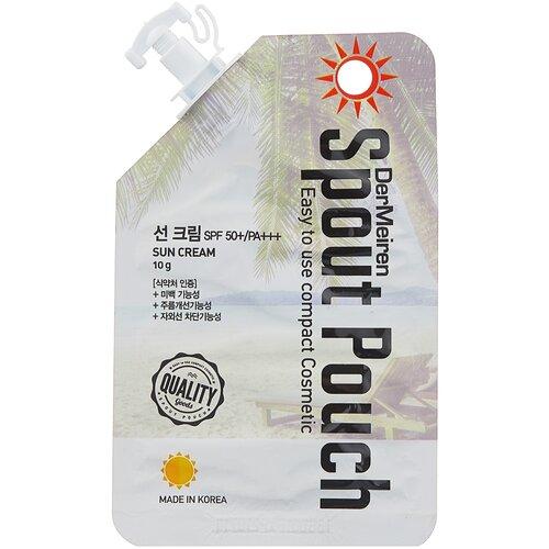 DerMeiren крем UV Defense High Protection Sun Cream, SPF 50, 10 г недорого