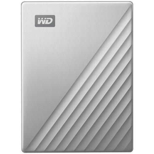 Фото - Внешний HDD Western Digital My Passport Ultra (WDBC3/WDBFT) 4 TB, серебристый thermaltake для hdd max4 n0023sn серебристый