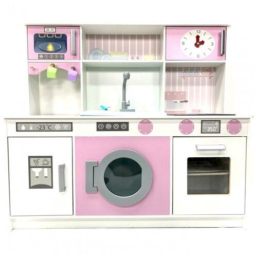 Купить Детская интерактивная кухня DreamToys Аделина с водой, светом и звуком, Детские кухни и бытовая техника