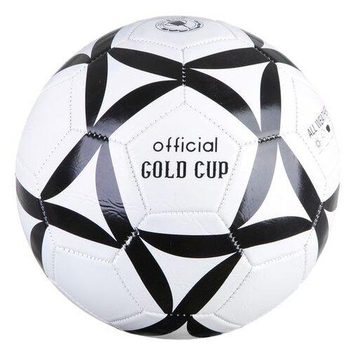 Мяч футбольный Гратвест 250 г, №5, PVC, матовый, 1 слой (Т18135)