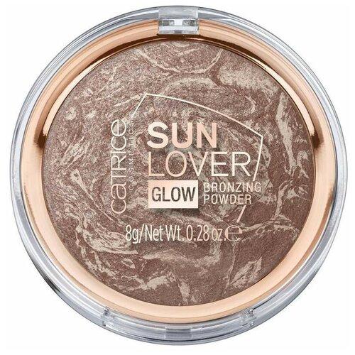 CATRICE Sun Lover Glow Bronzing Powder пудра компактная с эффектом загара 010 Sun-Kissed Bronze недорого