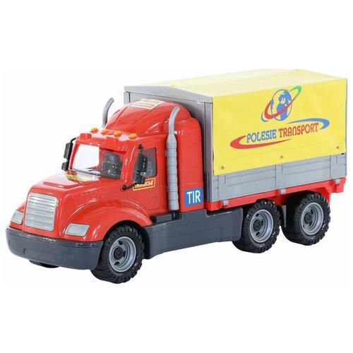 Фургон Wader Майк бортовой тентовый (58485), 53 см, красный/желтый фургон wader спасательная команда 0537 24 см
