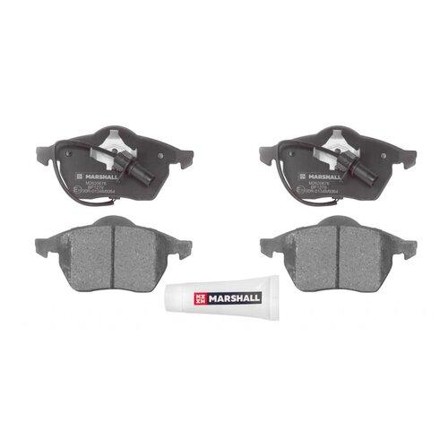 Фото - Дисковые тормозные колодки передние Marshall M2620676 для Audi A4, Audi A6, Volkswagen Passat (4 шт.) дисковые тормозные колодки передние ferodo fdb1832 для audi a6 audi a8 volkswagen phaeton 4 шт